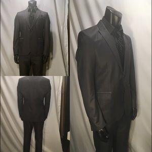Men's Black Tag Suit Zara size 40